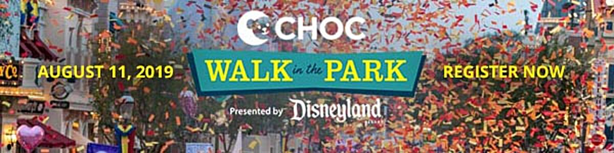 Register Now for CHOC Walk 2019